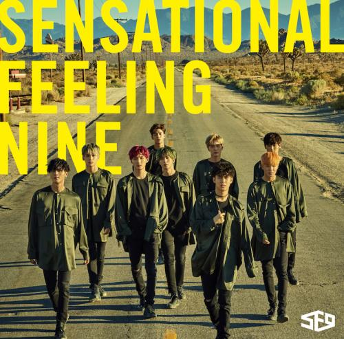 JAPAN 1st AL「Sensational Feeling Nine」通常盤 (CD)
