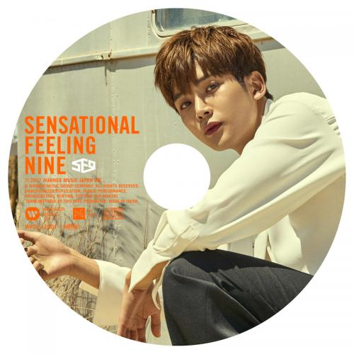 JAPAN 1st AL「Sensational Feeling Nine」ピクチャーレーベル盤(ロウン盤)(CD)