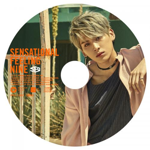 JAPAN 1st AL「Sensational Feeling Nine」ピクチャーレーベル盤(テヤン盤)(CD)