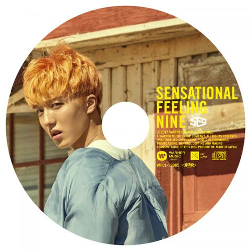 JAPAN 1st AL「Sensational Feeling Nine」ピクチャーレーベル盤(チャニ盤)(CD)