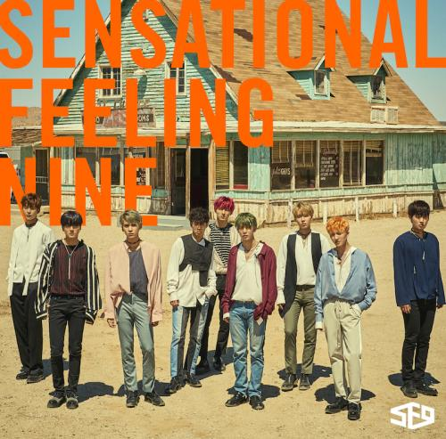 JAPAN 1st AL「Sensational Feeling Nine」初回限定盤 (CD+DVD)